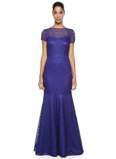 David Meister abiye elbise Renkli